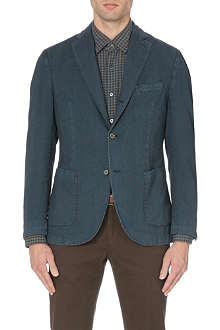 SLOWEAR Herringbone cotton blazer