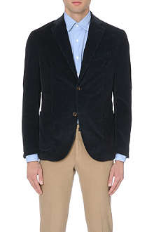 SLOWEAR Corduroy three-button blazer