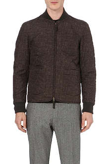 SLOWEAR Quilted bomber jacket