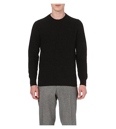 SLOWEAR Zanone wool-blend jumper (Charcoal