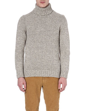 SLOWEAR Roll-neck knitted jumper