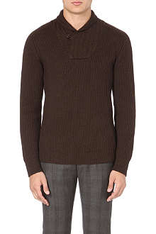 SLOWEAR Shawl neck jumper
