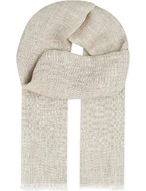 SLOWEAR Linen scarf