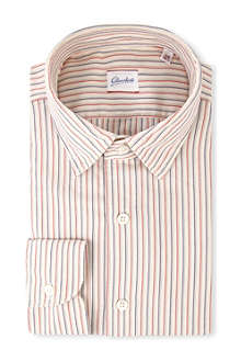 SLOWEAR Kurt striped regular-fit cotton shirt