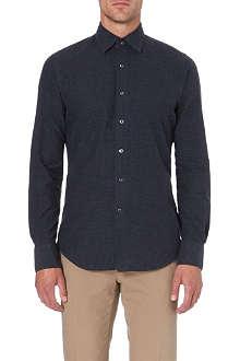 SLOWEAR Kurt slim-fit printed cotton shirt
