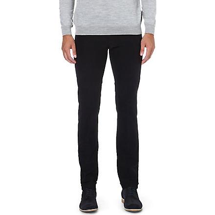 SLOWEAR Stretch-cotton trousers (Navy