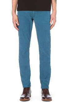 SLOWEAR Stretch-cotton trousers