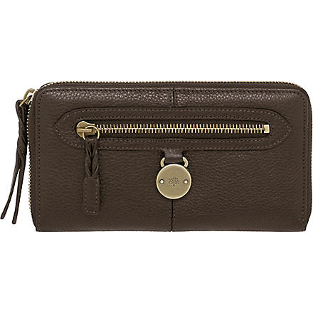 MULBERRY Somerset wallet (Choc