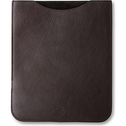 MULBERRY iPad sleeve (Chocolate