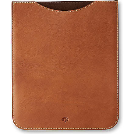 MULBERRY iPad sleeve (Oak