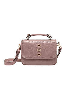 MULBERRY Bryn small shiny-grain satchel