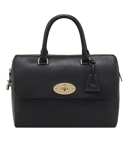 MULBERRY Del Rey bowling bag (Black