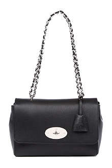 MULBERRY Lily medium grainy-print shoulder bag