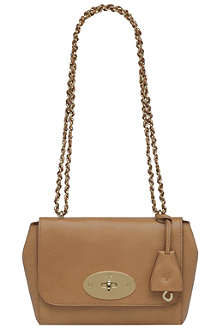 MULBERRY Lily grainy-print leather shoulder bag