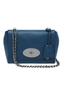 MULBERRY Lily grainy-print shoulder bag