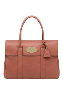 MULBERRY Bayswater smooth matte leather handbag