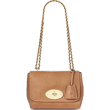 MULBERRY Lily natural leather shoulder bag (Oak