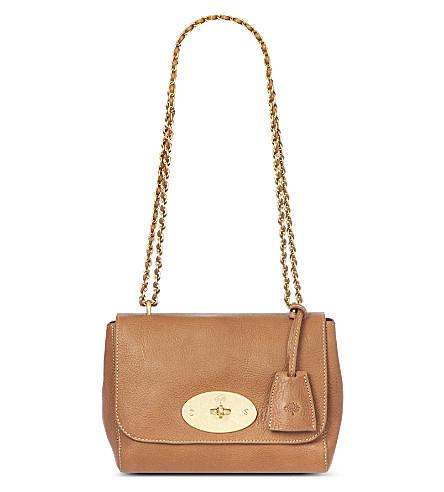 MULBERRY Lily natural leather shoulder bag (Oak