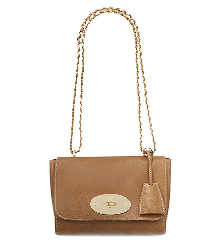 MULBERRY Lily leather shoulder bag (Oak