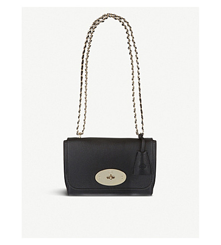 6113d5aab0bb ... MULBERRY Lily leather shoulder bag (Black. PreviousNext