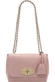 MULBERRY Lily glossy goat mini leather shoulder bag