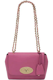 MULBERRY Lily glossy goat leather shoulder bag