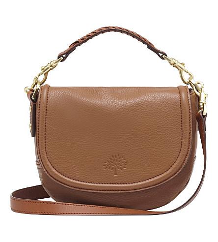 MULBERRY Effie small spongy pebbled leather satchel (Oak