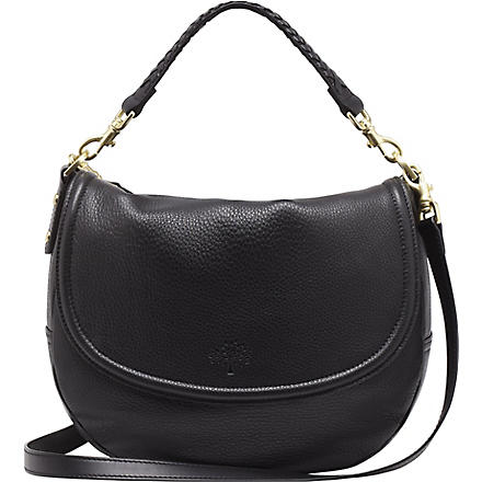MULBERRY Effie spongy leather satchel (Black