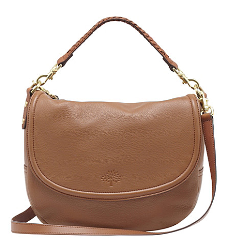 MULBERRY Effie spongy leather satchel (Oak