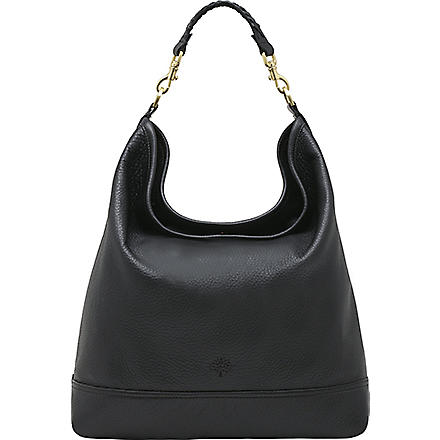 MULBERRY Effie spongy leather hobo (Black
