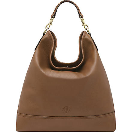 MULBERRY Effie spongy leather hobo (Oak