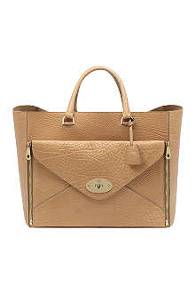 MULBERRY Willow oversized shrunken leather tote