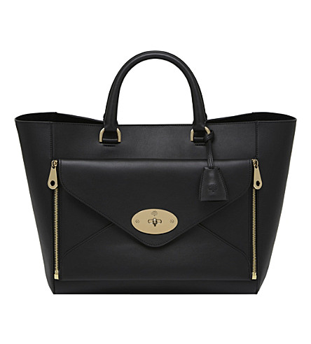MULBERRY Willow tote (Black