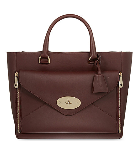 MULBERRY Willow tote (Oxblood