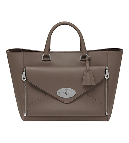 MULBERRY Willow tote (Taupe