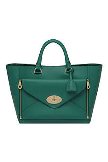 MULBERRY Willow silky calf leather tote