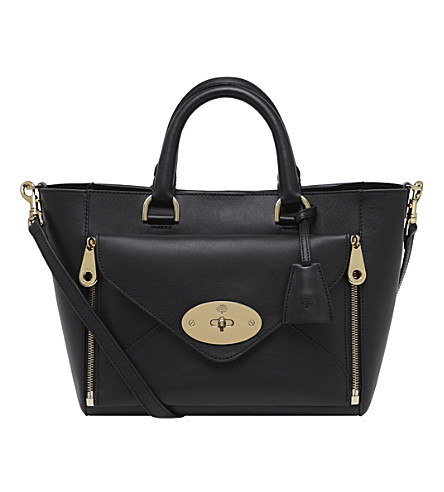 MULBERRY Small Willow tote (Black