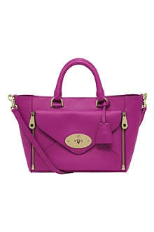 MULBERRY Willow small silky calf leather tote