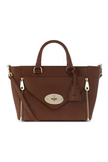 MULBERRY Silky calf willow tote