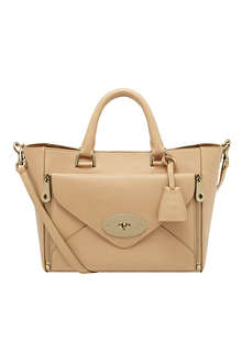 MULBERRY Willow silky calfskin tote