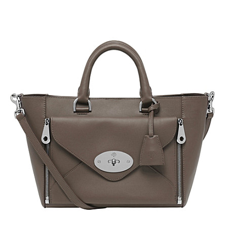 MULBERRY Small Willow tote (Taupe