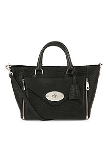 MULBERRY Willow shrunken calf tote