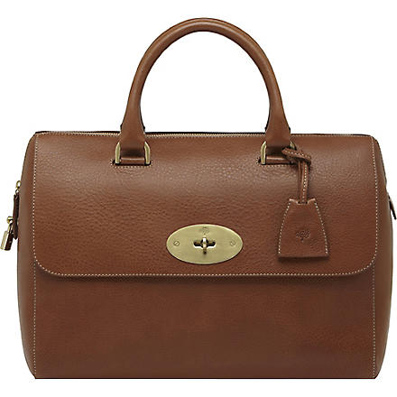 MULBERRY Del Rey natural leather tote (Oak
