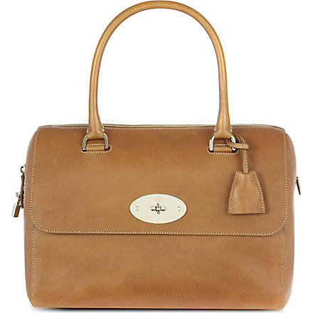 MULBERRY Del Rey bowling bag (Oak