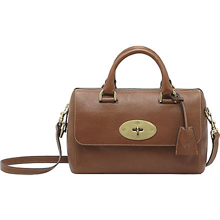 MULBERRY Del Rey small natural leather tote (Oak