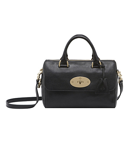 MULBERRY Small Del Rey bowling bag (Black