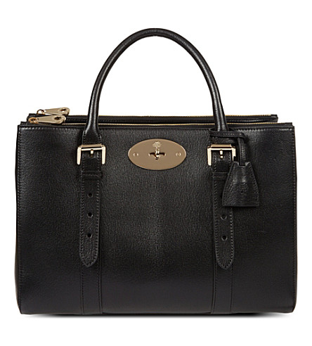 MULBERRY Bayswater Double Zip tote (Black