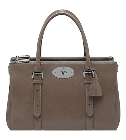 MULBERRY Bayswater Double Zip tote (Taupe