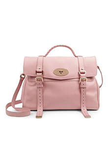 MULBERRY Alexa grainy calf leather satchel