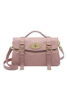 MULBERRY Alexa nappa leather satchel
